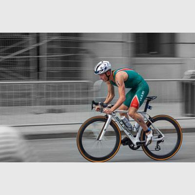Henri Schoeman Panshot bike triathlon
