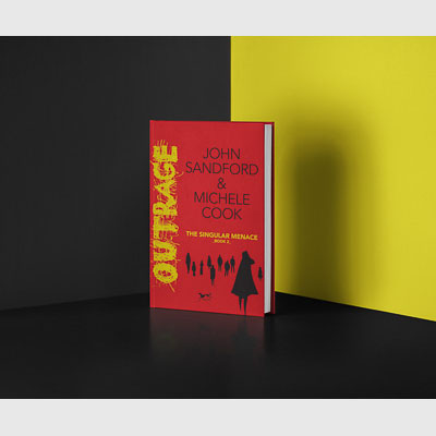 Book dustjacket mockup